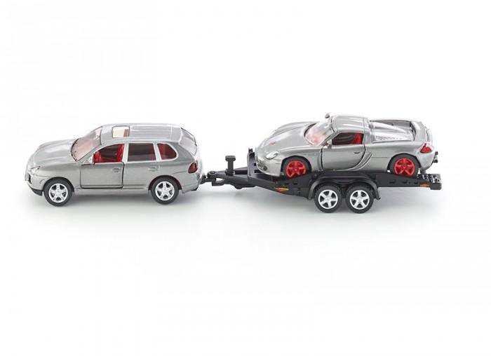 Машины Siku Джип с прицепом 2544 siku модель автомобиля porsche cayman