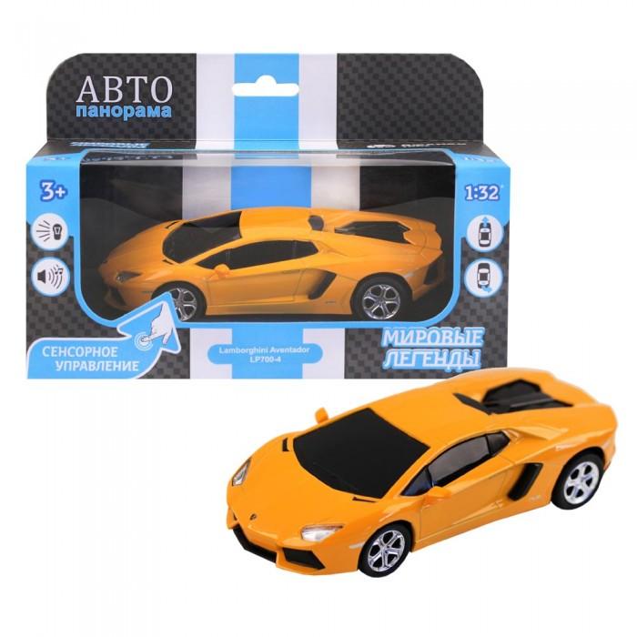 Машины Автопанорама Функциональная металлическая машинка с сенсорным управлением Lamborghini Aventador LP700-4 1:32 функциональная машинка врумиз люси