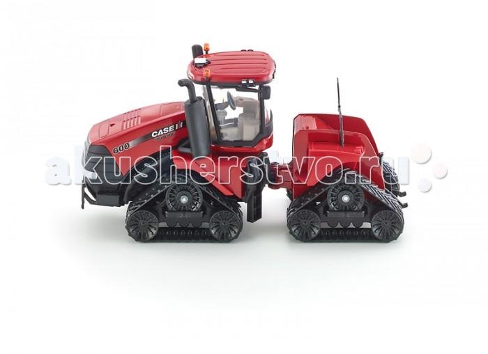 Машины Siku Трактор Case IH Quadtrac 600 3275 машины tomy трактор john deere monster treads с большими резиновыми колесами