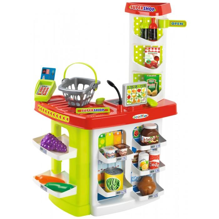 Ролевые игры Ecoiffier Chef Супермаркет Supershop с корзиной