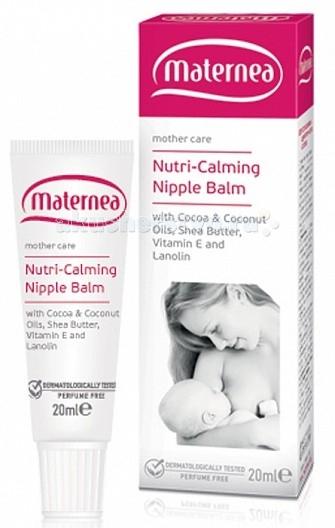Фото Косметика для мамы Maternea Успокаивающий крем для груди Nutri-Calming Nipple Balm