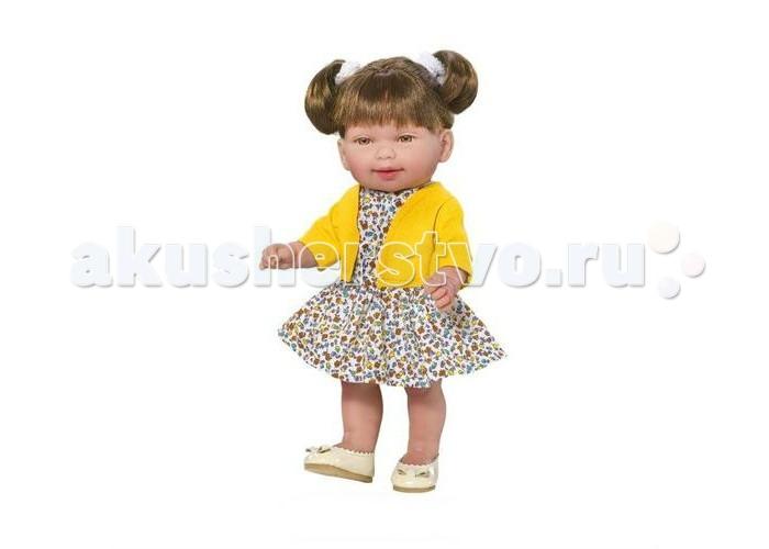 Купить Куклы и одежда для кукол, Vestida de Azul Кина брюнетка с хвостиками серия Soft touch
