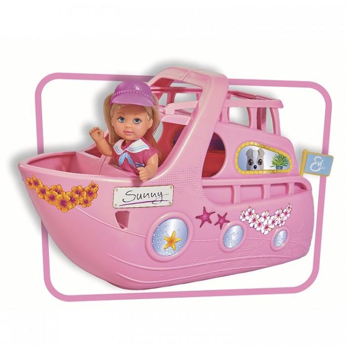 Купить Игровые наборы, Simba Игровой набор Кукла Еви на круизном корабле 12 см