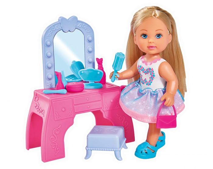 Купить Игровые наборы, Simba Игровой набор Кукла Еви с туалетным столиком 12 см