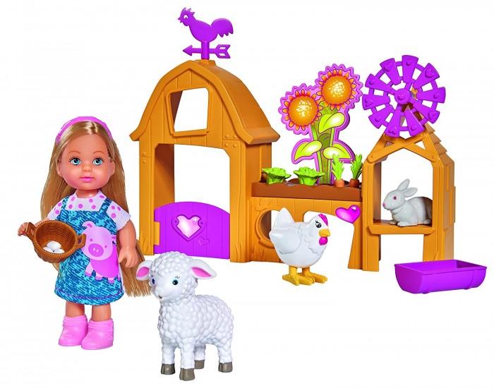 Игровые наборы Simba Игровой набор Счастливая ферма с куклой Еви