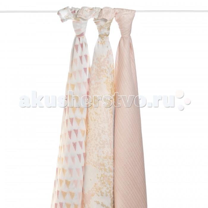 Пеленка Aden&Anais из бамбука набор 3 шт.