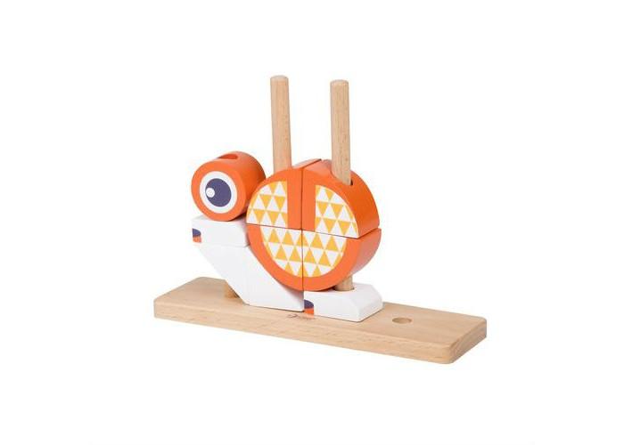 Деревянная игрушка Classic World Вертикальный пазл Лисенок