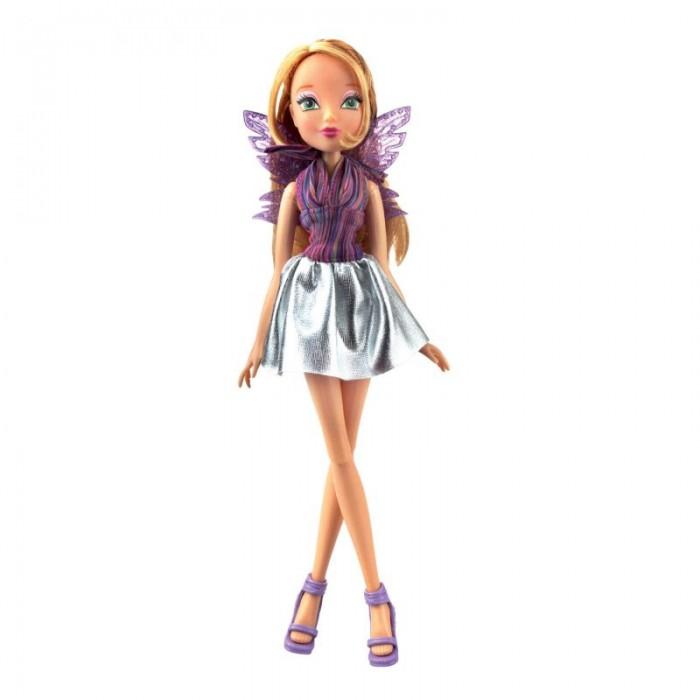 Купить Куклы и одежда для кукол, Феи Винкс (Winx Club) Кукла Club Рок-н-ролл Флора