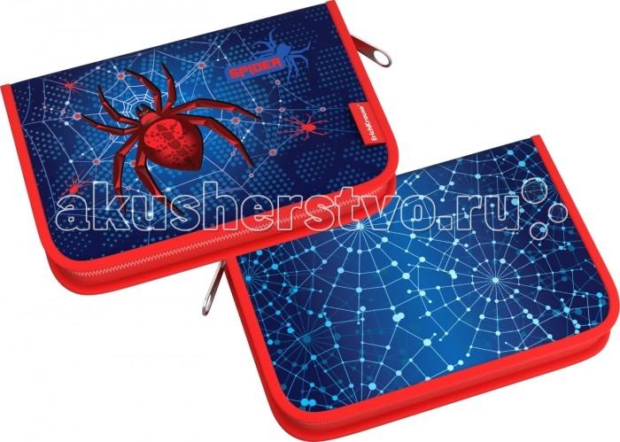 Купить Erich Krause Пенал-книжка с наполнением Spider 18 предметов в интернет магазине. Цены, фото, описания, характеристики, отзывы, обзоры