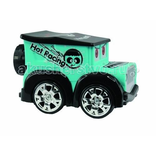 Машины KidzTech Радиоуправляемая мини машинка Hot Racing kidztech kidztech радиоуправляемая машина nissan gtr черная