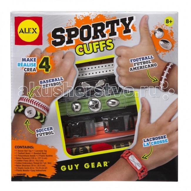 Наборы для творчества Alex Набор Сделай сам браслеты Звезды спорта alex alex набор для творчества сделай сам браслеты фенечки бро
