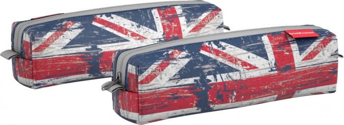 Пеналы Erich Krause Пенал квадро mini British Flag