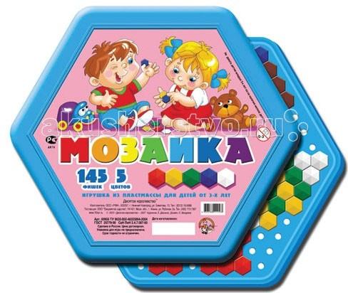 Мозаика Тридевятое царство Шестигранная мозаика 145 эл/5цв 00956 мозаика тридевятое царство мозаика 120 элементов 00965