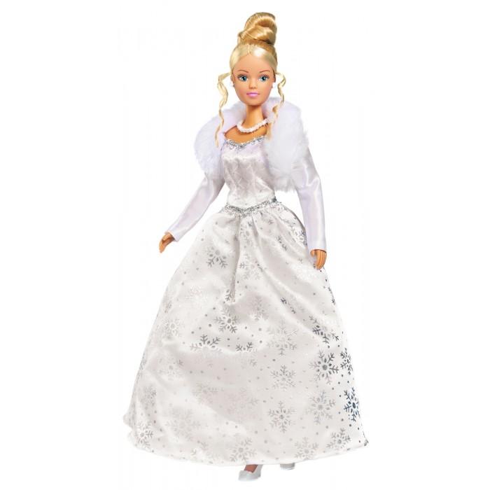 Картинка для Куклы и одежда для кукол Simba Кукла Штеффи в образе Снежной королевы 29 см