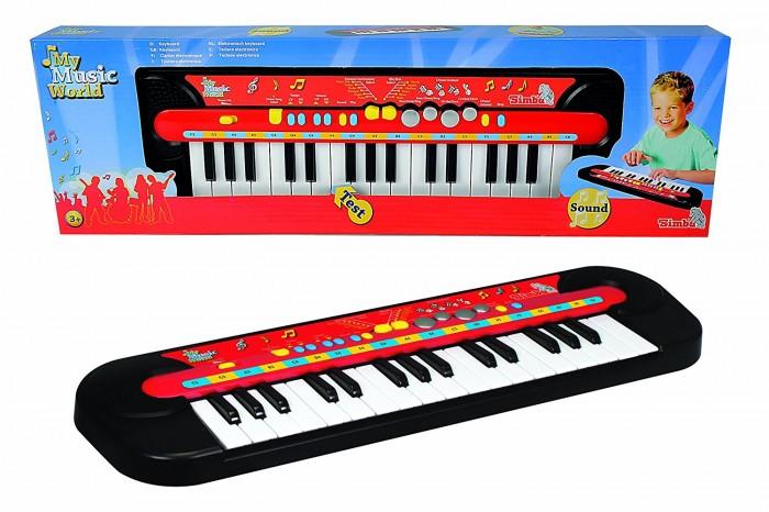 Музыкальные игрушки Simba Электросинтезатор My Music World, Музыкальные игрушки - артикул:585621