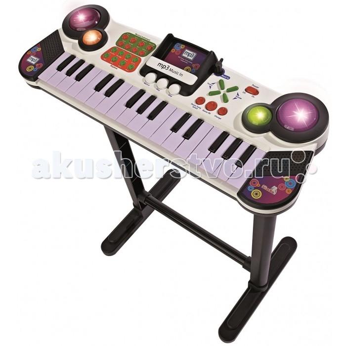 Купить Музыкальные инструменты, Музыкальный инструмент Simba Электросинтезатор на ножках 31 клавиша