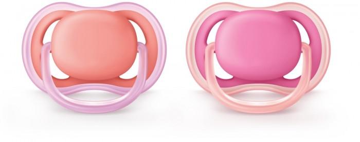 Купить Пустышка Philips Avent силиконовая Ultra air SCF245/22 6-18 мес. 2 шт. в интернет магазине. Цены, фото, описания, характеристики, отзывы, обзоры