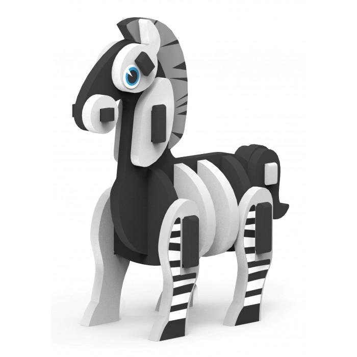 Конструкторы Magneticus Игрушка сборная из мягких элементов Животные - Зебра игрушка сборная из мягких элементов дракон дневная фурия