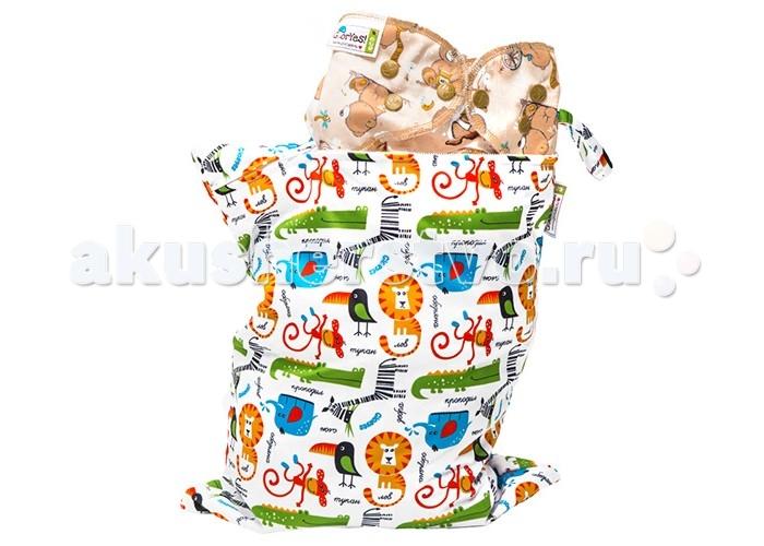 Сумки для мамы GlorYes Непромокаемая сумка Сафари нагрудник gloryes цветы