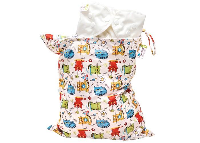 Сумки для мамы GlorYes Непромокаемая сумка Котята нагрудник gloryes цветы