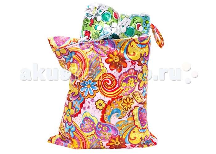 Сумки для мамы GlorYes Непромокаемая сумка Лето нагрудник gloryes цветы