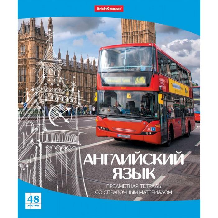 Купить Erich Krause Тетрадь общая Перспектива Английский язык (48 листов) в интернет магазине. Цены, фото, описания, характеристики, отзывы, обзоры