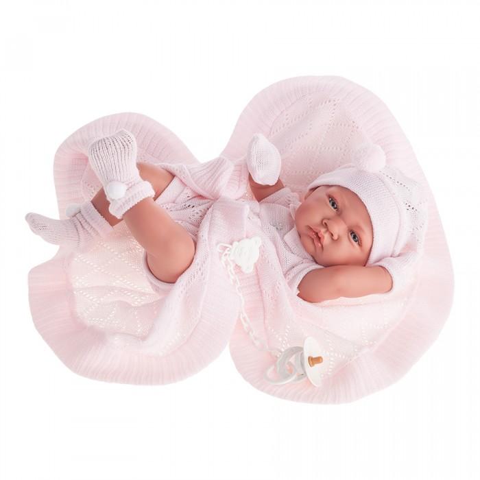 Munecas Antonio Juan  Кукла Тони (девочка) в розовом 42 см