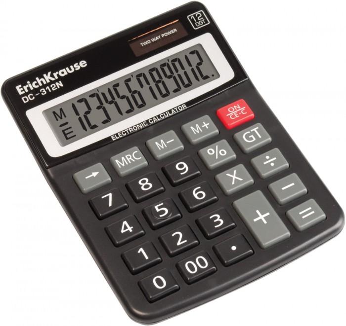 Erich Krause Калькулятор настольный 12-разрядов DC-312N