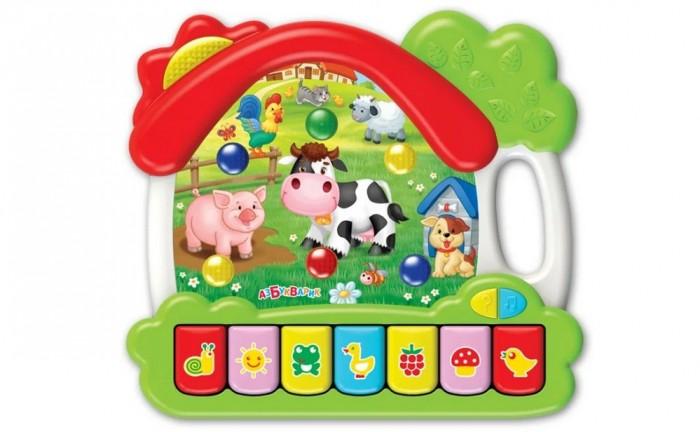 Электронные игрушки Азбукварик Ферма домик азбукварик игрушка азбукварик зверята с огоньками зайка