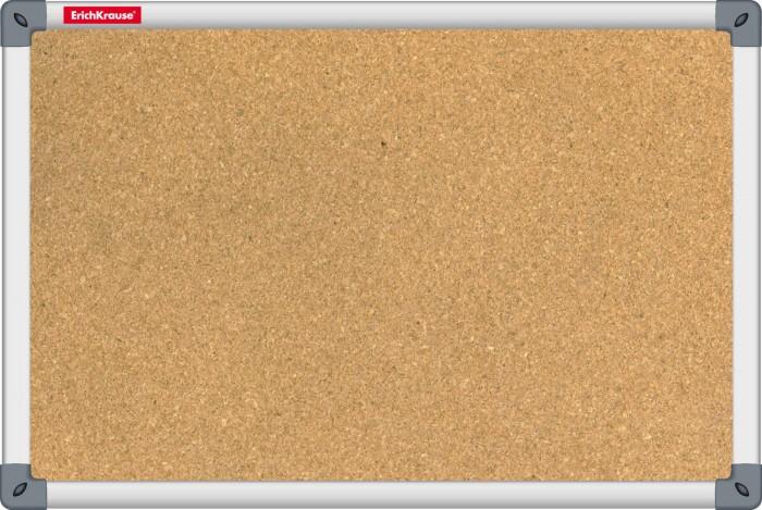 Доски и мольберты Erich Krause Доска пробковая 45х60 см доски и мольберты brauberg доска пробковая алюминиевая рамка 60х90 см