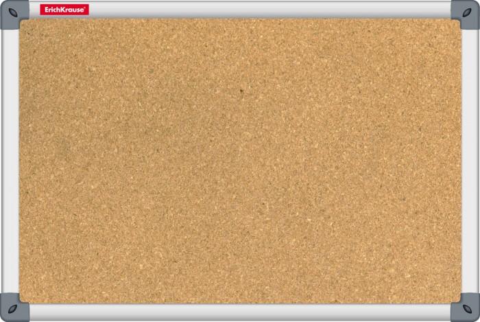 Доски и мольберты Erich Krause Доска пробковая 60х90 см доски и мольберты brauberg доска пробковая алюминиевая рамка 60х90 см