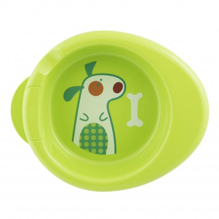 Купить Посуда, Chicco Тарелка Stay Warm от 6 мес.