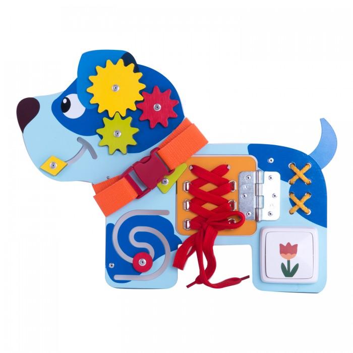 Деревянные игрушки Деревяшки Бизиборд Собачка Гав-Гав мягкая игрушка союзмультфильм котёнок гав 18см