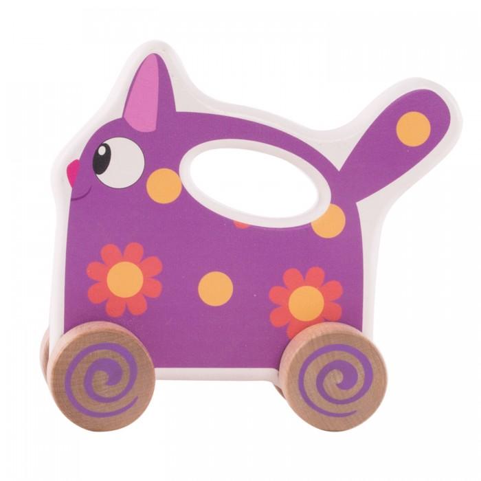 каталки игрушки Каталки-игрушки Деревяшки Кошечка Мяу