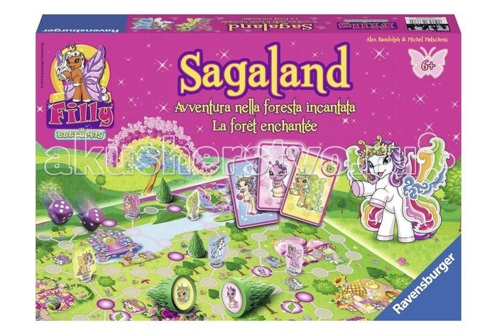 Игры для школьников Ravensburger Sagaland Бабочки Филли, Игры для школьников - артикул:58942