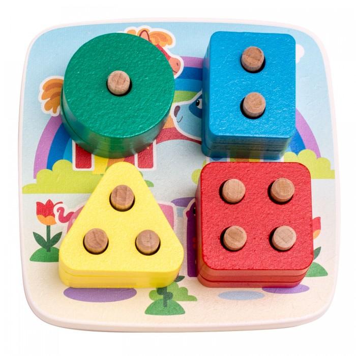 Купить Деревянные игрушки, Деревянная игрушка Деревяшки Сортер Деревяшки