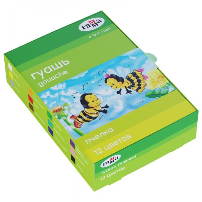 цена на Краски Гамма Гуашь Пчелка 12 цветов