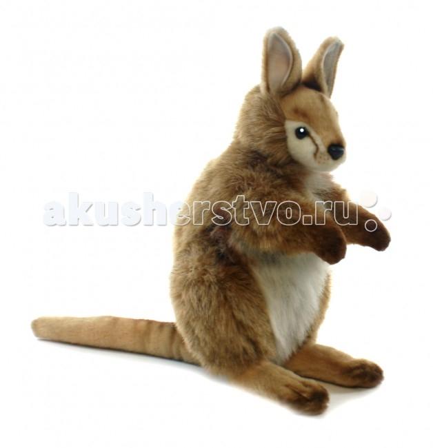 Мягкие игрушки Hansa Валлаби Каменный 28 см мягкие игрушки hansa обезьянка 28 см
