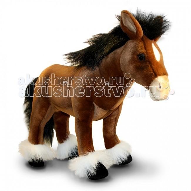 Мягкие игрушки Hansa Пони шоколадно-коричневый 36 см