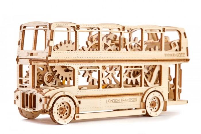 Конструкторы Wooden City Лондонский автобус (216 деталей), Конструкторы - артикул:590764