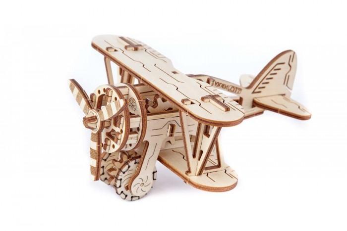 Конструкторы Wooden City Биплан (63 детали), Конструкторы - артикул:590849