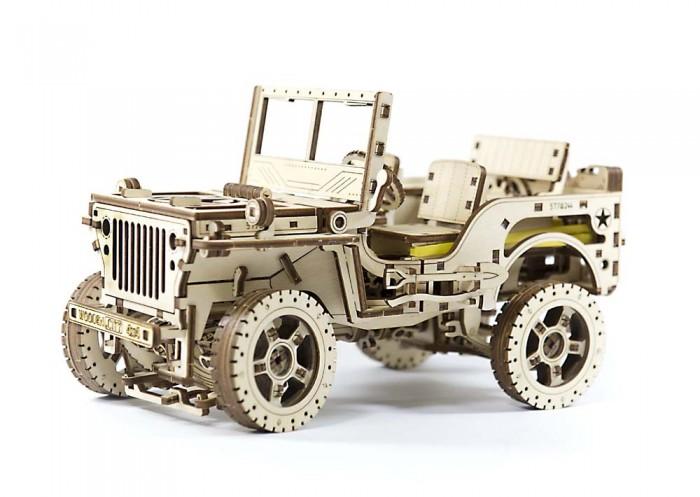 Конструкторы Wooden City Полноприводный автомобиль 4х4 (550 деталей), Конструкторы - артикул:590929