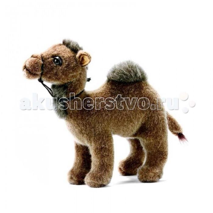 мягкие игрушки hansa тарантул коричневый 19 см Мягкие игрушки Hansa Верблюд 22 см