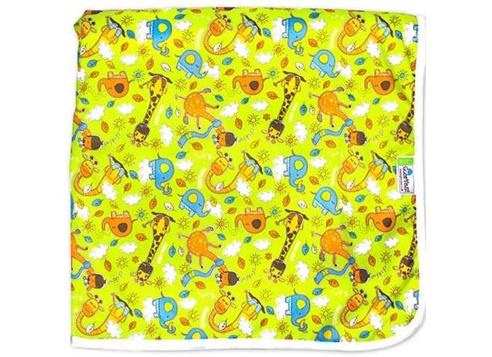 Купить Наматрасники, GlorYes Впитывающая пеленка Жирафы 120х100