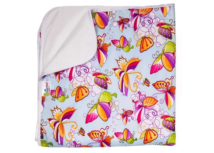 Купить Наматрасники, GlorYes Впитывающая пеленка Бабочки 120х100