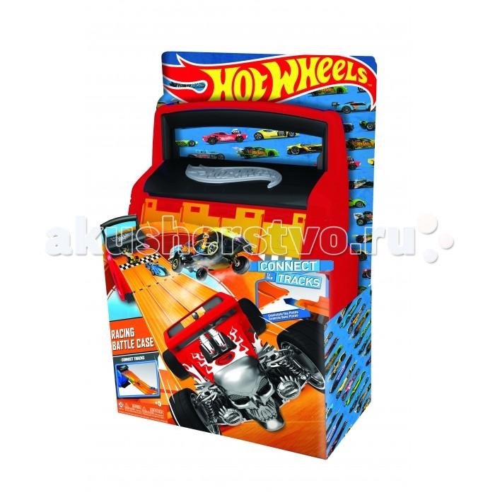 Hot Wheels Портативный кейс-автотрек