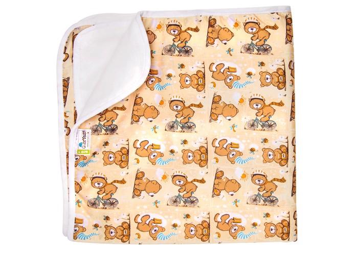 Наматрасники GlorYes Впитывающая пеленка Медвежонок 80х68 см, Наматрасники - артикул:591169