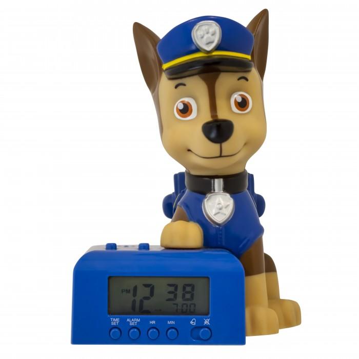 Часы Щенячий патруль (Paw Patrol) будильник BulbBotz минифигура Chase высота 15.24 см