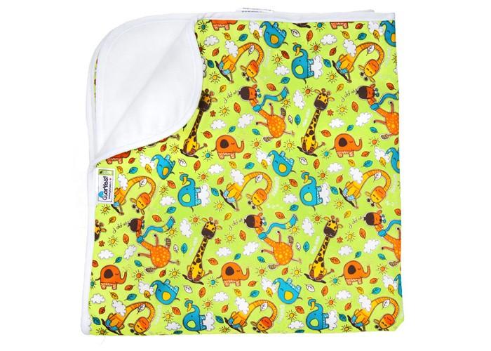 Наматрасники GlorYes Впитывающая пеленка Жирафы 80х68 см, Наматрасники - артикул:591199
