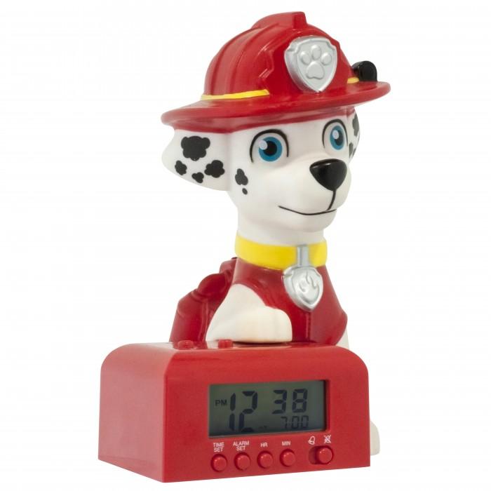 Часы Щенячий патруль (Paw Patrol) будильник BulbBotz минифигура Marshall высота 15.24 см